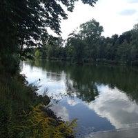 Photo taken at Schwanenteich by Sascha R. on 8/16/2012
