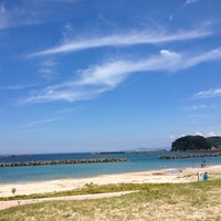 Photo taken at 久手海水浴場 by Qooqi on 7/17/2012