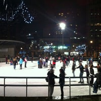 Photo taken at Rosa Parks Circle by Alaa O. on 12/30/2011