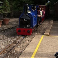 Photo taken at Wells Harbour Railway - Pinewoods Station by Angus M. on 8/6/2011