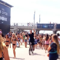 Photo taken at Vans US Open of Surfing 2013 by Jon W. on 7/31/2012