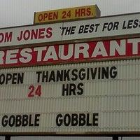 Photo taken at Tom Jones Family Restaurant by Alex S. on 11/21/2011