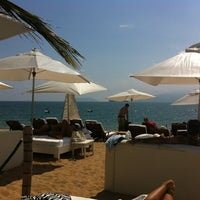Photo taken at DPNY Beach Hotel by Carlos Eduardo S. on 4/15/2012