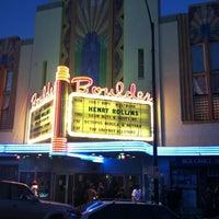 Photo taken at Boulder Theater by John C. on 3/27/2012