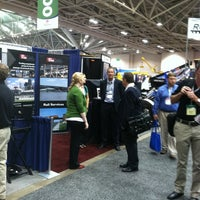 Photo taken at TranSystems Booth #2218 by Tim R. on 9/20/2011