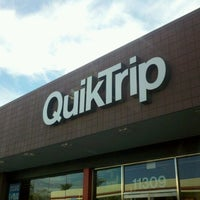 Photo taken at QuikTrip by Christopher G. on 1/21/2012