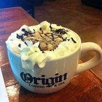 Photo taken at Origin Coffee & Tea by Katie A. on 3/11/2012