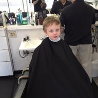 Photo taken at Oxford Barber Shop by Jeff H. on 5/19/2012