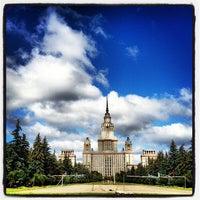 Photo taken at Юридический факультет МГУ by Vladimir P. on 8/21/2012