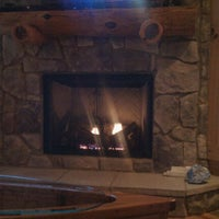 Photo taken at Spirit Of The Mountain Luxury Log Cabins by Andrea P. on 9/13/2011