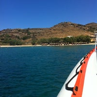 Photo taken at Porto Koundouros Beach by Μαρινακι🍉 on 6/10/2012