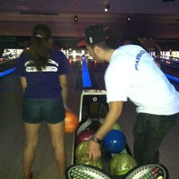 Photo taken at AMF Cranston Lanes by Latin Fever D. on 4/22/2012