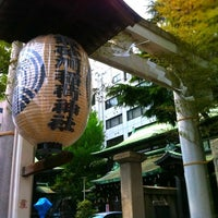 Photo taken at 鉄砲洲稲荷神社 by Y'z on 7/29/2011