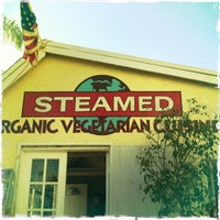 Photo taken at Steamed Organic Vegetarian Cuisine by D on 12/10/2011