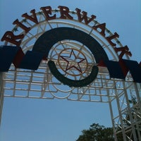 Photo taken at The Outlet Collection at Riverwalk by Cheri R. on 5/18/2011