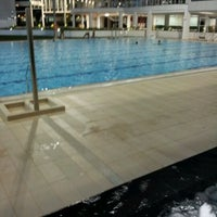 Photo taken at Swimming Pool @ Sports Complex by Rafael H. on 1/20/2012