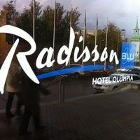 Снимок сделан в Radisson Blu Hotel Olümpia пользователем Veljo H. 10/8/2011