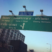 Photo taken at :: Express way rama 4 :: by Knackii S. on 11/3/2011
