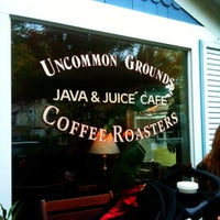 Photo taken at Uncommon Coffee Roasters by Rebecca K. on 10/16/2011
