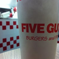 Photo taken at Five Guys by laura p. on 10/1/2011