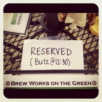 Photo taken at Brew Works on the Green by Jonathan B. on 6/17/2012