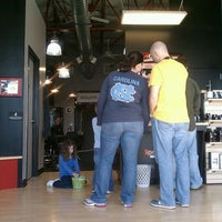 Photo taken at Sport Clips Haircuts of Mooresville by Marcus C. on 1/28/2012