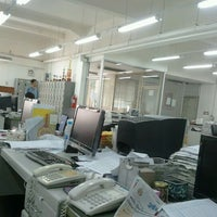 Photo taken at สำนักงานหนังสือพิมพ์สยามรัฐ by Napatr S. on 10/24/2011