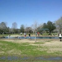 Photo taken at Bill Archer Dog Park by Carter C. on 1/28/2012