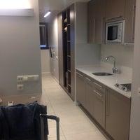 Photo taken at ApartHotel - BCN Montjuic by Gaftie ✈. on 5/14/2012