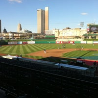 Photo taken at Parkview Field by Amber F. on 4/5/2012