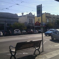 Photo taken at Tram Stop 57 (3/3A) by Richard D. on 4/30/2011