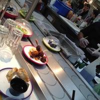 Photo taken at YO! Sushi by Liza P. on 1/29/2012