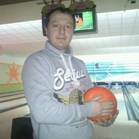 Photo taken at Cosmic Bowling by Volkan S. on 1/1/2012