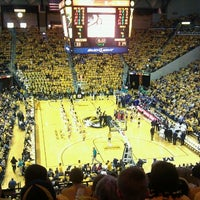 Photo taken at Mizzou Arena by Teri T. on 3/18/2011