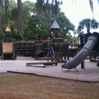 Photo taken at Playground @ R.E. Olds Park by Tyrone H. on 4/14/2012