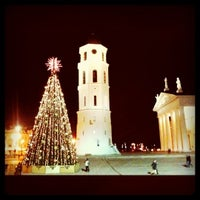 Photo taken at Cathedral Square by Natalia B. on 12/15/2011