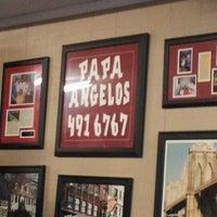 Photo taken at Papa Angelo's Pizzeria by Matt W. on 12/13/2011