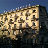 Photo taken at Hotel Beau-Rivage by Stanislav K. on 10/26/2011