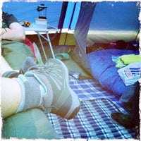 Photo taken at Derwentwater Camping and Caravanning Club Site by Becki B. on 7/10/2012