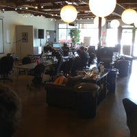 Photo taken at Gangplank HQ by Ellen S. on 6/20/2011
