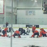 Photo taken at Virtua Center Flyers Skate Zone by Scott P. on 9/18/2011