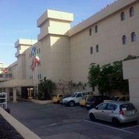 Photo taken at Beatriz Playa Hotel - Matagorda by Gema H. on 1/6/2012