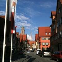 Photo taken at Münster St.Georg Dinkelsbühl by Gihwan J. on 7/6/2012