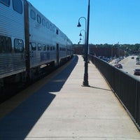 Photo taken at Amtrak/Metra Joliet Union Station (JOL) by Manny B. on 8/25/2011