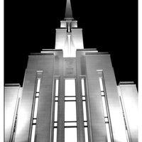 Photo taken at Oquirrh Mountain Utah Temple by Heidi G. on 9/15/2011