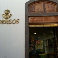 Photo taken at Oficina Correos by Iban C. on 1/11/2012