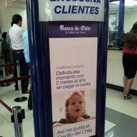Photo taken at Banco de Chile by Mario O. on 12/14/2011