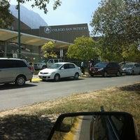 Photo taken at Colegio San Patricio (Campus Cumbres) by Alejandro G. on 9/12/2011