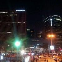 Photo taken at Seoul Square by Simon Y. on 3/8/2012