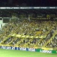 Photo taken at Estádio Heriberto Hülse by Rafael R. on 4/5/2012